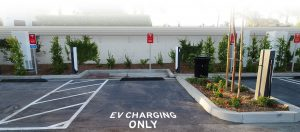 image of an EV Charging station
