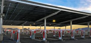 Charging Stations in the desert